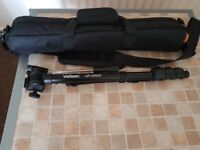velbon up- 4000dx monopod with padded bag