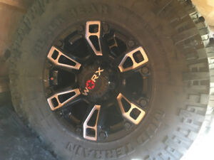 """35"""" Tires and Rims for sale"""