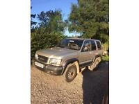 Isuzu trooper citation 3.0td dohc