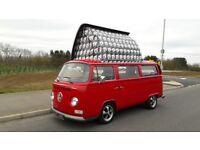 VW Bay window camper van 1972