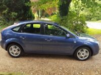 FORD FOCUS GHIA,(2007) 1.6 TDCi DIESEL, 5 DOOR HATCHBACK, FULL SERVICE HISTORY FROM NEW.