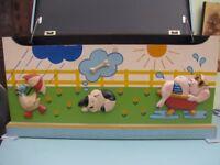 Toy Box and Headboard