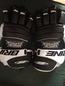Toronto rock lacrosse gloves