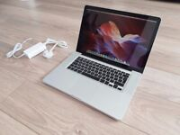 Macbook Pro 15, 2.4GHz Core 2 Duo, 4GB Memory, 250 Hard drive, NVIDIA GeForce Graphic