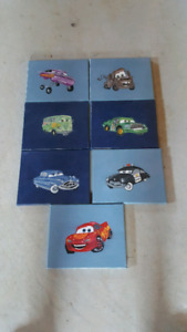 Hand painted CARS  pictures