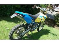 Husaberg fe450 moted