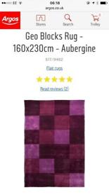 Brand new rug RRP £124.99 selling for £75