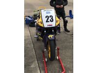 Honda CBR 600 track bike 1989 No V5