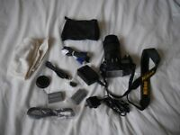 For Sale - Nikon D90 Digital Camera and Nikon 18-105 Lens as shown in the photo. Offers considered.