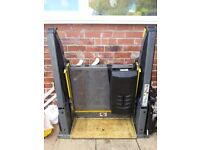 Wheelchair lift very good condition. Excellent to lift wheelchair into vehicle.