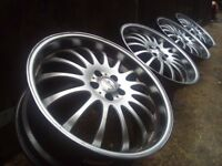 19' Team Dynamics Alloy wheels 5x108 Ford Mondeo/Focus/Jaguar/Peugeot/Volvo