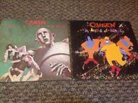 2 Queen vinyl LPs