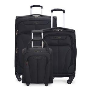 Ensemble Bagage Souple Samsonite Atrium luggage TOUT est neuf