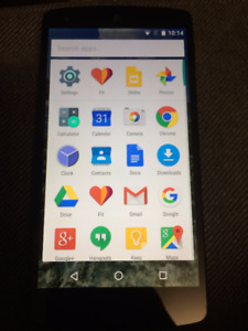 LG Nexus 5 In Good Condion Unlocked All Providers+Wind Freedom