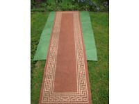 Patterned Fabric Rug for £10.00