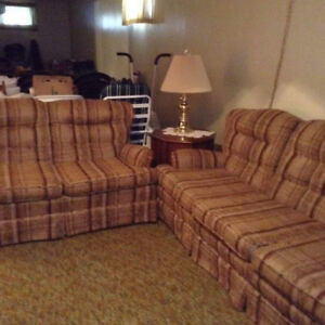 I have a sofa, love seat and chair for sale I