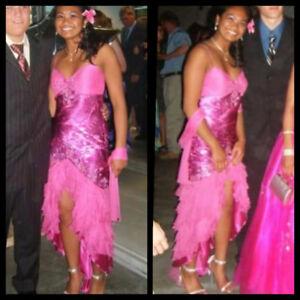 Pink Mermaid style prom/grad dress