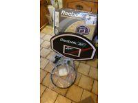 Basketball hoop &net -wall mounted new/unused