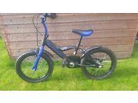Boys Bike 16inch Blue/Black Excellent condition