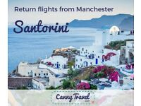 easyJet Return Flights to SANTORINI, Greece only £259pp **REDUCED CANCELLATION** Fly from Manchester