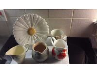 Jugs mug plate