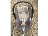 Cybex Aton q car seat & Isofix base