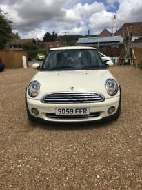 Mini Cooper! GREAT CONDITION! 59 Plate, Cruise Control, Bluetooth Phone!
