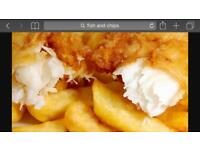 Fish & Chip shop for sale in Newtownabbey busy wee shop