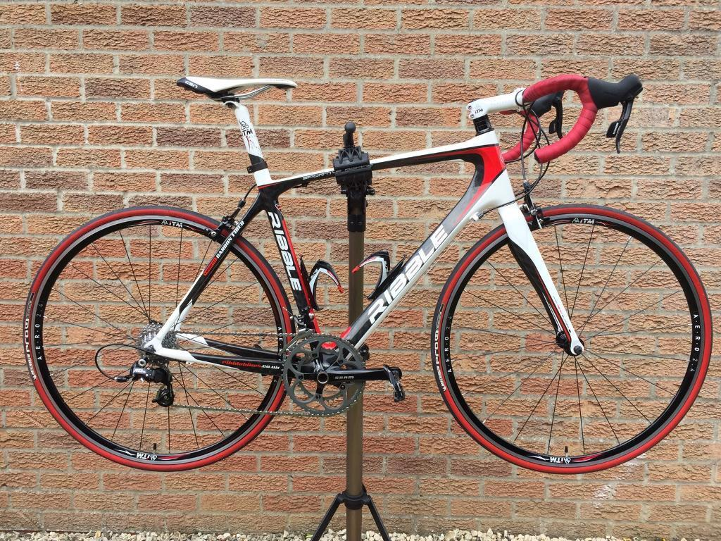Full carbon roadbikein Norwich, NorfolkGumtree - Ribble Sportive Racing full carbon road bike. SRAM Rival group set. Bottle cages and Garmin out front mount included. Regularly serviced and maintained. Medium size frame