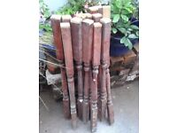2 Sets of Staircase Spindles