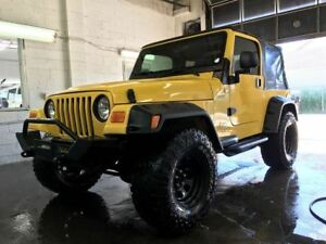 2005 Jeep TJ Sport, 4X4, Lifted, 33 Tires