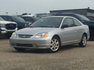 2003 Honda Civic Coupe, Only 189 000 Km, Manual