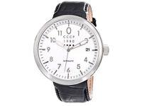 CCCP Men's CP-7008-02 Kashalot Analog Display Automatic Self Wind Black Watch