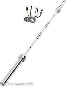 **2 WEEK PRICE ONLY** BRAND NEW 7ft OLYMPIC BARBELL