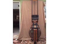 Waterrower Classic S4 American black Walnut , with extra's , like new!
