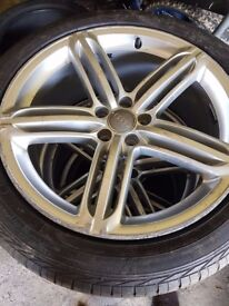 """20"""" Alloys whell Genuine with goodyear tyres"""