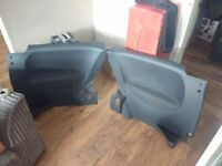 Corsa C 3dr seats cloth with Front and Back door cards