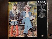 ABBA GREATEST HITS Vinyl LP 33 rpm