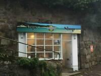 Retail kiosk St. Ives, Cornwall