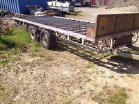 Aberdeen Trailers.Flat trailer 7'6 x 16'