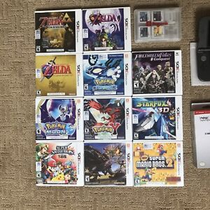 Select Nintendo 3DS Games