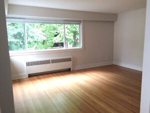 Newly Renovated One bdrm Unfurnished Apartment (West End)