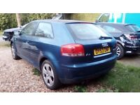 Audi A3 2.0 FSI - FULLY LOADED - SPARES AND REPAIRS -ALL PARTS AVAILABLE