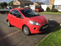 09 Ford Ka 1.2 tax £30 long mot service history low insurance £1995