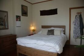 Spacious two double bedroom in garden flat mid October for a few months, bills incl.