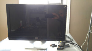 """HP W2007 20"""" monitor with internal speakers for sale!"""