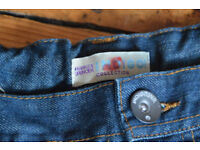Boys Jeans, Age 13 years, Marks and Spencer Indigo collection, seconds, not worn