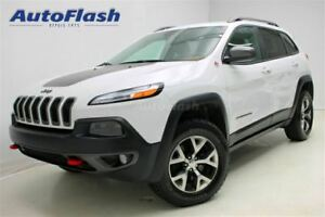 2015 Jeep Cherokee Trailhawk 4X4 6cyl 3.2L *Cuir/Leather* clean!