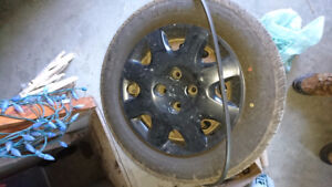 4x100 14 inch wheels off honda civic