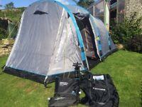 Airgo Horizon 4 tent, brand new carpet and ground sheet